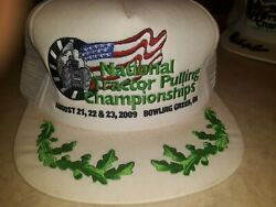 National Tractor Pulling Championship Cap New August 21st 22nd And 23rd 2009...