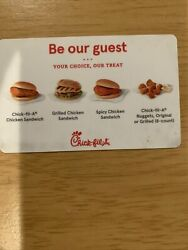 """Chick-fil-a Expired """"be Our Guest"""" Gift Card - Katy, Tx"""
