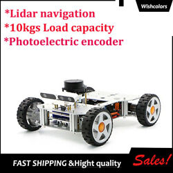 Ackerman Ros Car Robot Chassis For Jetson Tx2 Rplidar A2 Normal Type Load 10kg W