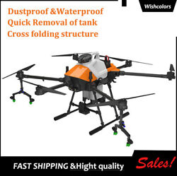 G610 6 Axis Agriculture Drone Frame 1460mm Foldable 10kg Load+pesticide Tank Wi