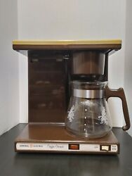 Vintage General Electric Automatic Drip Coffee Maker Model Dc400 Tested