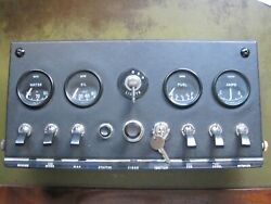 Jaguar E-type, Xke Series 1 Dashboard Console, Looks About As Good As It Gets