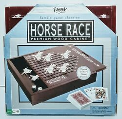 Fundex Horse Race Premium Wood Cabinet - Complete Game