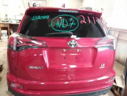 Trunk/hatch/tailgate Privacy Tint Glass Manual Lift Fits 16 Rav4 Red 2474456