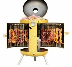 Barbeque Charcoal Grill Machine Portable Camping Cookware Kitchen Outdoor Cooker