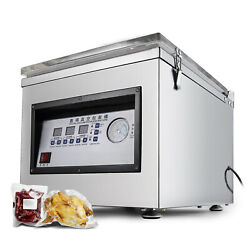 Vacuum Packaging Machine Commercial Kitchen Food Chamber Vacuum Sealer 110v Used