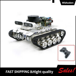 Tracked Vehicle Ros Car Robotic With A1 Customized Radar For Jetson Nano B01 4gb