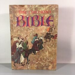 The Childrens Bible 1965 Hardcover New And Old Testament Beautiful Illustrated