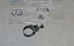 1971 Wittek 1 1/8 Tower Hose Clamps 1 Dated 3/71 Corvette Camaro Ford Mustang
