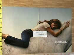 Brittany Murphy 2005 Jordache Jeans Campaign Print Ad White Horse 2 Pg.