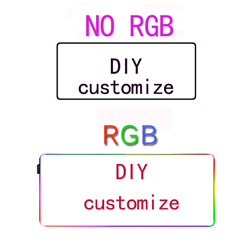 Factory Direct Sales Agent Diy Custom Large Mouse Pad And Rgb Mouse Pad Custom L