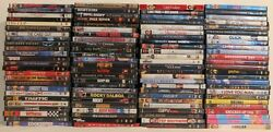 100 Used Wholesale Bulk Dvd Lot All Genre Movies Top Notch Hollywood