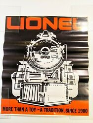 1983 Lionel Train Store Dealer Ad Poster More Than A Toy A Tradition Since 1900