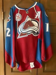 Jarome Iginla Game Used And Autographed Colorado Avalanche Jersey Jsa