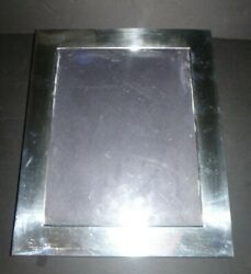 Vintage Sterling Silver 925 Photo Frame By Valerio Albarello For 9 X 7 Picture