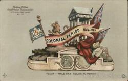 1909 Hudson-fulton Colonial Period Float Redfield Brothers, Inc. Postcard