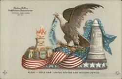 1909 Hudson-fulton Float Title Car United States And Modern Period Postcard