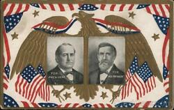 Bryan And Kern For President And Vice President A And S Postcard Vintage Post Card