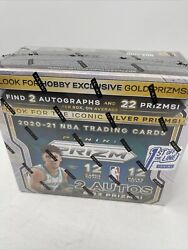 2020-2021 Panini Prizm Basketball Sealed Hobby Box 1st Off The Line Fotl In Hand