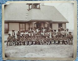 Lower Brule Sioux Indian Police Agency Native American Cabinet Card Photographs