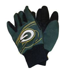 Green Bay Packers Football Green Gloves