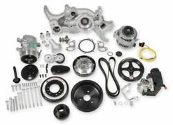 Holley 20-190 Premium Mid-mount Complete Accessory System For Ls7/ls Engines