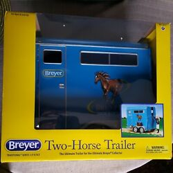 Breyer 19 Scale Traditional Series 2617 Two Horse Trailer. Factory Sealed New