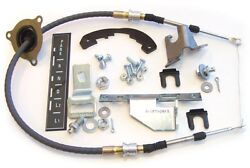 1966 1967 Chevelle Th350 Th400 Powerglide Shifter Conversion Kit Andcable Sc2032-c