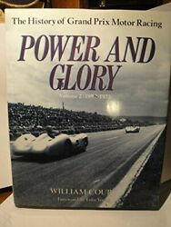Power And Glory The History Of Grand Prix Motor Racing/item No 116077 002 B…