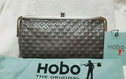 NEW with Tags Hobo Original LAUREN Wallet Clutch Embossed Granite $102.99