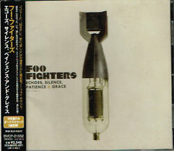 Foo Fighters Echoes Silence Patience And Grace Japan Cd W/obi Bvcp-21552