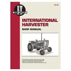 Service Manual For Case/international Tractor Ih-32 1206125614562120621256