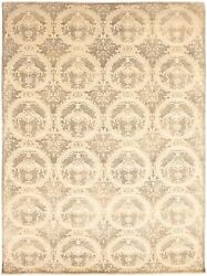 Modern Hand-knotted Carpet 8and03911 X 12and0394 Oriental Area Rug