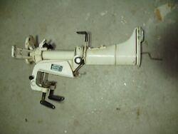 4 Hp Johnson Evinrude Outboard Mid Section With Transom Bracket