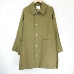 Visvim Auth 2018aw Grease Monkey Coat 0118505013016 Olive Size 2 New From Japan