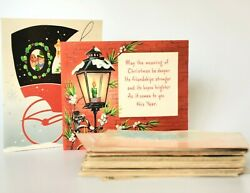 Antique Vtg Postcards Greetings Cards Lot Christmas Birthday Valentine Easter