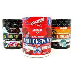 Axe And Sledge Ignition Switch Stim Pre-workout 40 Serv Energy Redcon1 Total War