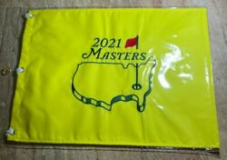 2021 Masters Embroidered Golf Official Pin Flag - Augusta National - Authentic