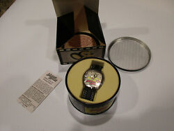 Mighty Mouse 50th Anniversary Watch New In Original Tin And Box