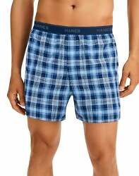 Hanes Men#x27;s 6 Pack Woven Boxers Wicking Cool Comfort Flex Waistband Breathable