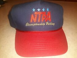 National Tractor Pulling Association Championship Pulling Cap New Has Been...