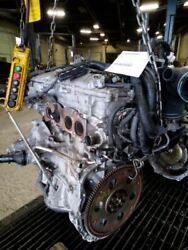 Engine 12 13 14 Toyota Camry 2.5l Vin F 5th Digit 2arfe 4 Cyl Fed 2617930