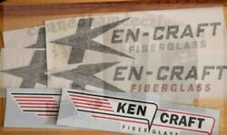 Ken-craft Vintage Travel Trailer Reproduction Decal 50-60's 15and18 Pick A Set