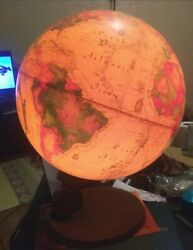 Working 1980 12 Lamp Antique Spot Globe Denmark Readers Digest Fast Shipping