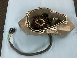 Yamaha Fx Cruiser Ho Waverunner Stator With Pickup Coil And Engine Cover
