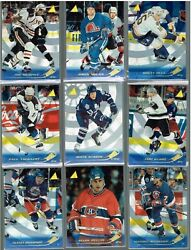 1995 1996 PINNACLE HOCKEY ARTIST PROOF PICK YOUR PLAYER COMPLETE YOUR SET $7.99