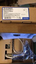 Toto Tels105cp Electronic Ecopower Single Hole Bathroom Faucet Chrome Hands Free