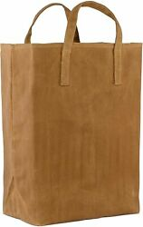 Waxed Canavs Tote For Grocery Durable Heavy Duty Reusable Shopping Bag... $16.59