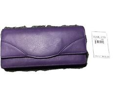 Tusk Women#x27;s Donington Napa Gusseted Clutch Wallet $70.00