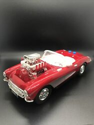 1957 Corvette Vintage Toy State Industrial Ltd Red Classic Battery Operated Work